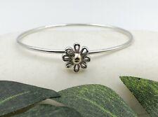 Tiffany & Co. Paloma Picasso Daisy Bangle Bracelet Sterling Silver 18K Gold