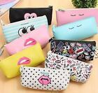 Fashion Cute Pencil Case Bag Pen Case Pouch Stationary Office School Supplies