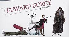 EDWARD GOREY 2015 WALL CALENDAR - NEW!!