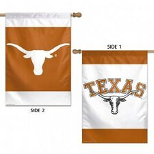"Texas Longhorns Logo 28""X40"" Double Sided Banner Flag Brand New Wincraft"