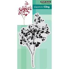 New Penny Black Rubber Stamp Winter Graceful Whisper Foliage free Usa ship cling