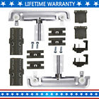 W10712395 Dishwasher Upper Rack Adjuster Metal Kit,Compatible with Whirlpool photo