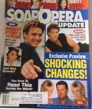 Soap Opera Update Magazine Does John Fall In Love March 31, 1998 072517nonrh