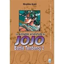 LE BIZZARRE AVVENTURE DI JOJO - BATTLE TENDENCY 2 DI 4 - STAR COMICS NUOVO