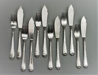 BSF Modell 100 Fischbesteck 800er Silber für 6 Personen (118)