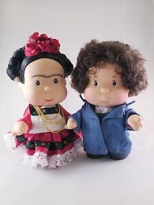 Frida Kahlo y Diego Rivera Nice Couple Dolls Collectible
