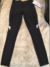 Ivivva By Lululemon Size 8 Chill Drill Pant Black BLK Luxtreme Run Practice NWT