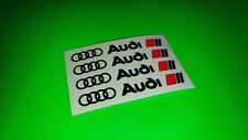 Pack of 4x AUDI sport car Door/Rim Sticker/Decal