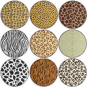 Animal Print QI Wireless Charger For Apple iPhone XR/11/12/Pro/Max Leopard Spot
