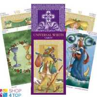 UNIVERSAL WIRTH TAROT DECK CARDS ORACLE ESOTERIC FORTUNE TELLING LO SCARABEO NEW