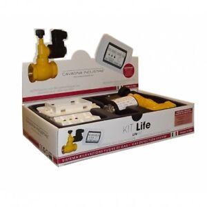 "KIT Life GPL Bianco + E.V. GAS GAS 3/4 N.A. 230Vca GECA 36671125"""