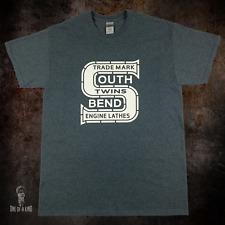 Southbend Lathe T Shirt Rare Vintage Machine Tool Logo South Bend On Gildan
