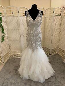 BNWT Eternity Bridal wedding dress size 12 NEW  ivory ballgown