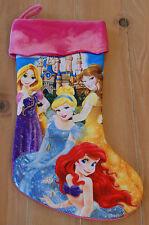 New Disney Parks Princess Cinderella Belle Rapunzel Ariel Christmas Stocking