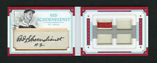 Red Schoendienst 2017 National Treasures /5 Auto Legendary Cuts Booklet Sp D2018
