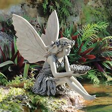 Garden Fairies Fairy Faerie Statue Statuary Lawn Yard Art Ornament Sculpture