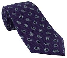 Michelsons of London Pine Extra Long Tie