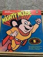 The New Adventures of Mighty Mouse-Peter Pan Records #1118 Used