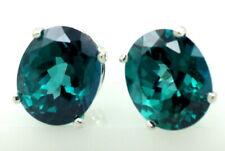 Paraiba Topaz, Sterling Silver Earrings, SE102