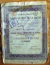 Russian-Belgium bond Ice of the South of Russia-Glacis du Midi de la Russie 1899