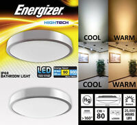 10w LED Energizer bathroom ceiling light - Waterproof IP44 - Cool or Warm White
