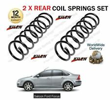 FOR FORD FOCUS SALOON MODELS ONLY 2004-2012 NEW 2 X REAR COIL SPRINGS SET