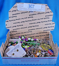 Vintage Costume Jewelry Junk Drawer Destash Craft Mix Media Job Lot SALE JE7