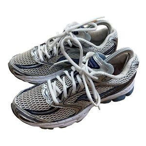 Saucony Phoenix 5 Womens Athletic Running Shoes Trainers Size 5.5 Silver Blue