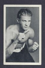 1935 United Tobacco Company #34 Tommy Bensch World - Famous Boxers VG-EX Plus