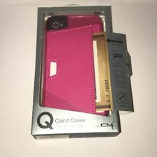 Q CM Wallet Card Case For iPhone 4/4s Pink