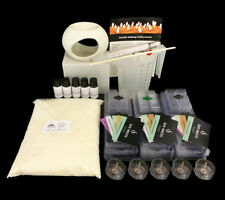 Soy Melt Making Kit with pouring jug, thermometer, tealights & BONUS Oil Burner