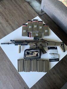 Tokyo Marui FNH SCAR-H/MK17 AEG Rifle + NcStar/ VISM ECO 4x34 Scope + HOLOSUN RF