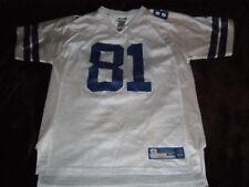 Terrell Owens  81 Dallas Cowboys White NFL Football Jersey Youth XL Reebok 4c4e71956