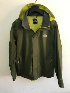 Mens North Face Jacket / Coat Medium / Large M/L Green Waterproof Hyvent #4
