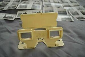 BOXED VISTASCREEN VIEWER + 2 SETS OF SLIDES LONDON  REF 35 &  HISTORIC LONDON 52