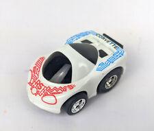 Choro Q High Grade No.10 Corvette Indy White Takara 1987 Penny Racer Car