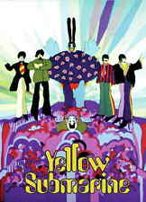 THE BEATLES Yellow Submarine The End Fridge Magnet Rock Official Merchandise