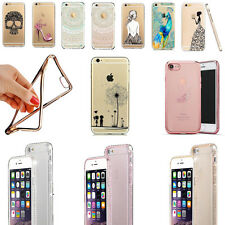 iPhone 8, 7 & 7 Plus 7+ Handy Hülle Schutzhülle Case Silikon + PANZER GLAS FOLIE