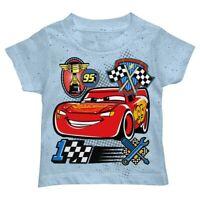 Pixar Cars 3 Lightning McQueen Tee Disney Infant,Toddler, T Shirt New
