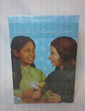 NEW American Girl - Cecile and Marie-Grace Paperback Boxed 6 Book Set with Game