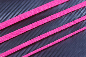 Pink Braided Sleeving Cable Harness Sheathing Expanding Sleeve in Many sizes!
