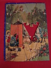 ANCIEN PUZZLE EN BOIS / JOUETS JEUX ANCIEN n°4