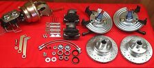 MOPAR CHRYSLER A BODY PLYMOUTH DISC BRAKE CONVERSION 62-74 5 ON 4 BOLT PATTERN