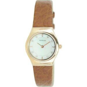 Bering Ladies Watch Wristwatch Slim Classic - 11923-562 Leather