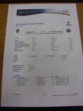 07/11/2012 Valencia V bate Borisov [] - árbitros informe de la Liga de Campeones (3 páginas