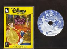 DISNEY HOTSHOTS BEAUTY AND THE BEAST. GAMES & ACTIVITIES FOR AGES 3 UP ON PC!
