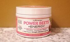Natural Energy w/ Adaptogens Nu-Therapy Power Beets Powder (30 servings) 6.6 oz