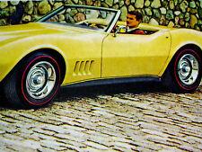 1968 CHEVY CORVETTE CONVERTIBLE ORIGINAL GM AD-L88 427/L79 327/L89/L71/v8 engine