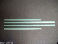 JEEP COMPASS UNPAINTED Body Side Mouldings Moldings Trim 3M  2007-2013