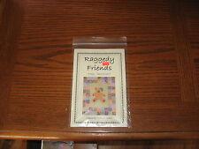 """Raggedy Friends"" Rag Chenille Quilt Pattern by Debra H. Sidler"